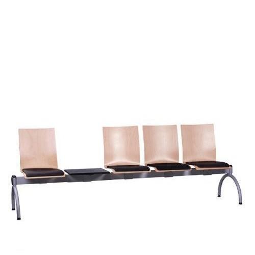 Siège poutre 4 places avec table COMBISIT TC44T SP - rembourré