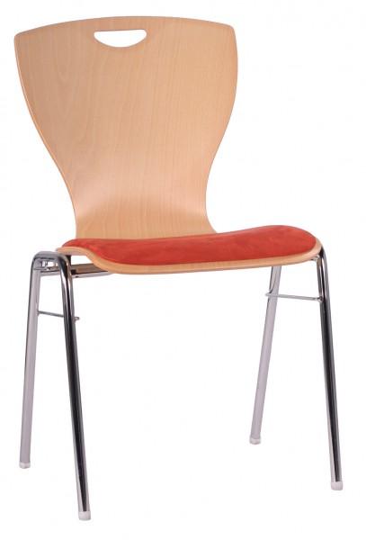 Chaise coque en bois / chaise empilable COMBISIT A60G SP