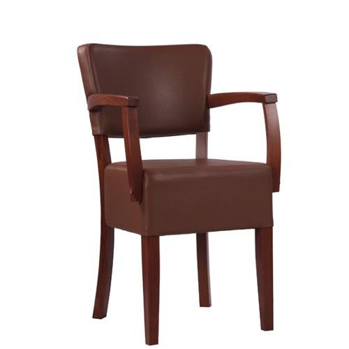Chaise rembourrée avec accoudoirs TILO AE