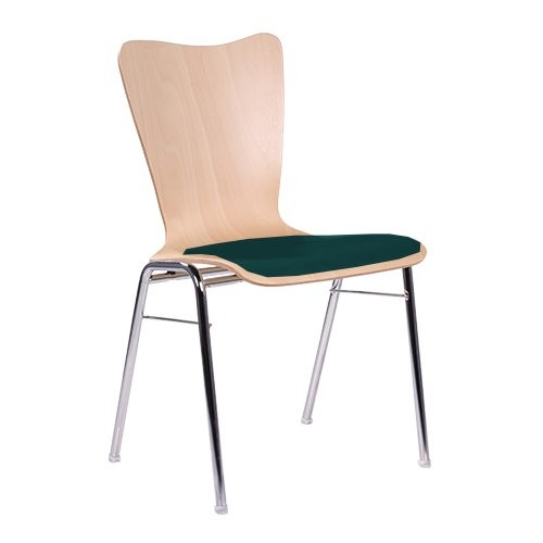 Chaise coque en bois / chaise empilable COMBISIT A80 SP