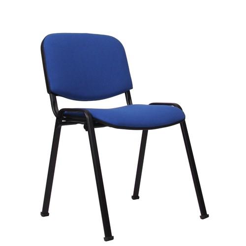 Chaise empilable ISO - époxy noire