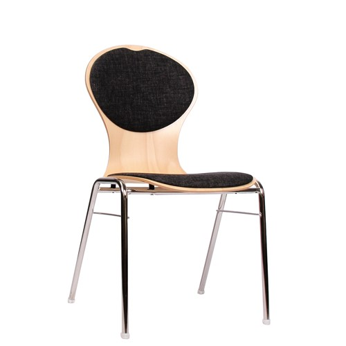 Chaise coque en bois / chaise empilable COMBISIT A10 SRP