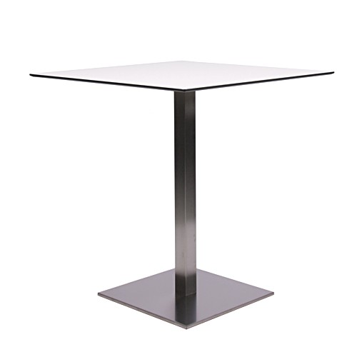 Table MANILA - Inox - HPL 10mm