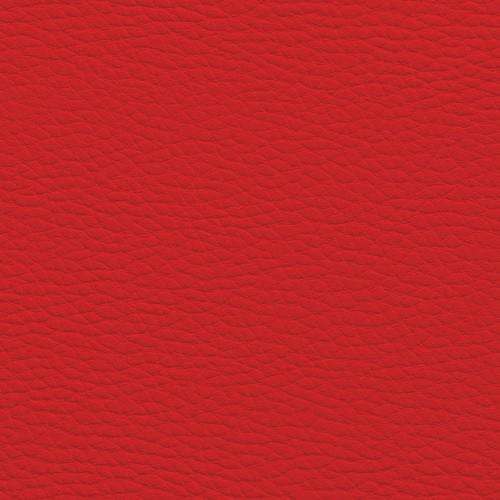 Cuir synthétique avec grains KB60 rouge