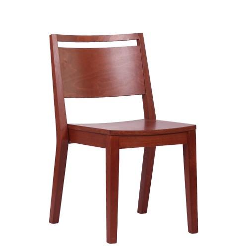 Chaise en bois LUCAS ST - empilable