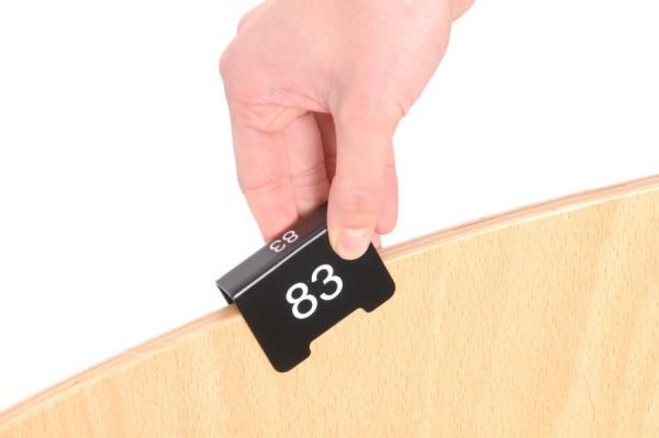 Marqueur de numérotation de place