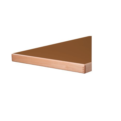 Plateau de table STRATIFIÉ (HPL) - bordure 65 mm d'épaisseur