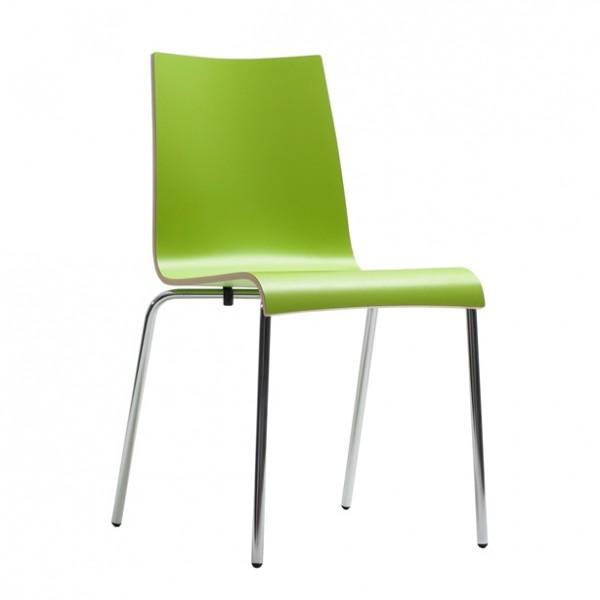 Chaise ROMAN HPL - vert citron