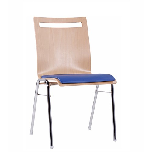 Chaise coque en bois / chaise empilable COMBISIT A45 SP