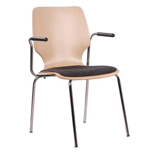 Chaise coque en bois / chaise empilable COMBISIT E20 SP