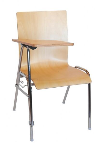 Chaise de séminaire / chaise de conférence COMBISIT SEMINAR avec tablette écritoire