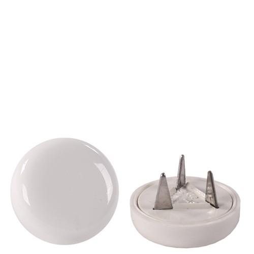 Set (4 pièces) patins de sol plastique blanc