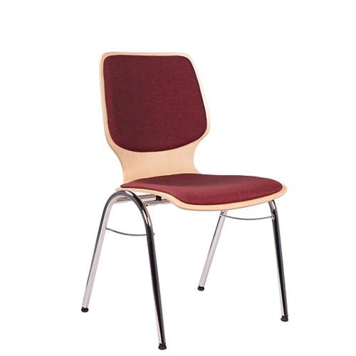Chaise coque en bois / chaise empilable COMBISIT B20 SRP