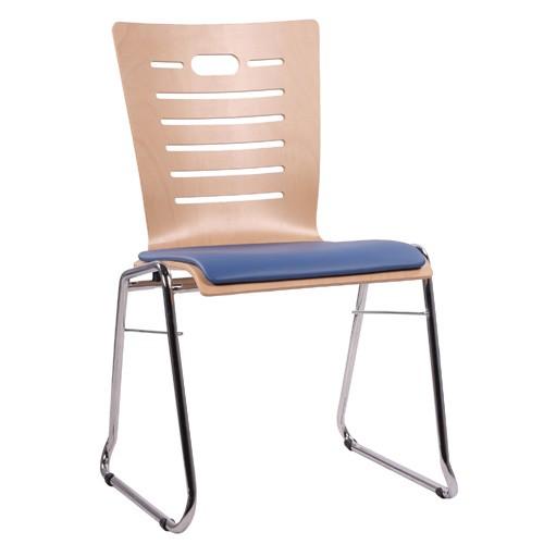 Chaise coque en bois / chaise empilable COMBISIT C70 SP