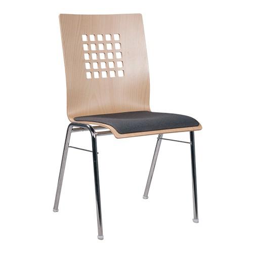 chaise coque en bois / chaise empilable COMBISIT A41 SP