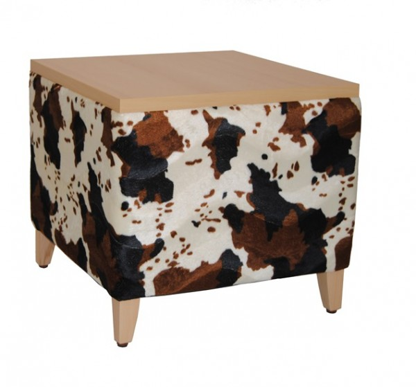 Table basse / table d'appoint MICA T - imitation fourrure