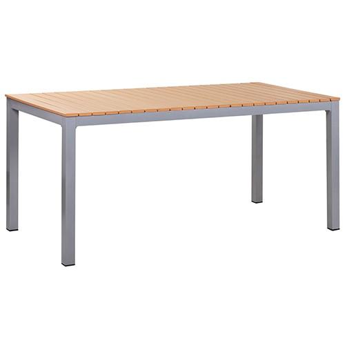 Table de terrasse LUNO 168 - Imitation teck