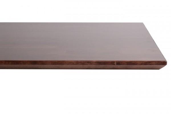 Plateau de table en HÊTRE massif  - Bordures biseautées - 70 x 70 cm