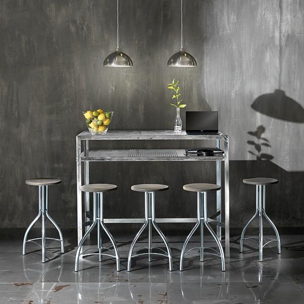 Mange-debout / Table de bar HOPE - Design industriel
